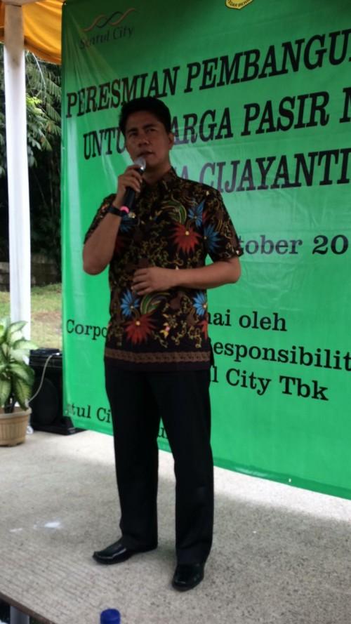 Peresmian CSR Sentul City